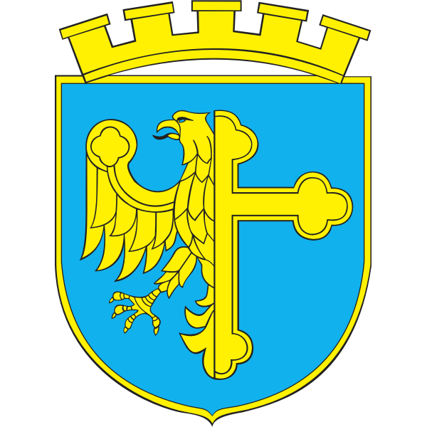 Vector clip art of coat of arms of Opole City