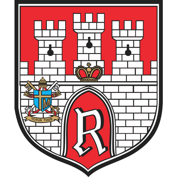 Vector illustration of coat of arms of Radom City