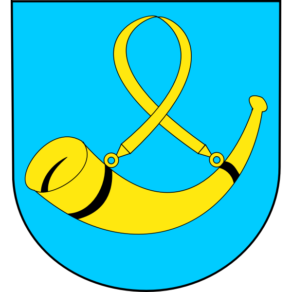 Vector graphics of coat of arms of Tychy City