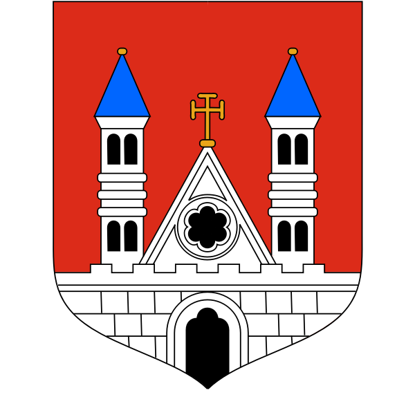 Vector coat of arms of Plock City