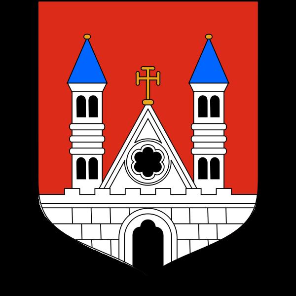 Vector coat of arms of Plock City