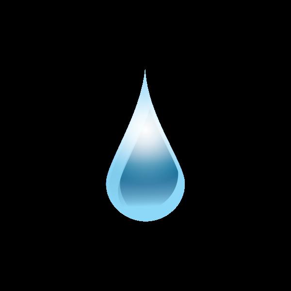 Water drop drawing