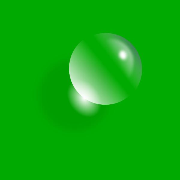 Vector image of water drop