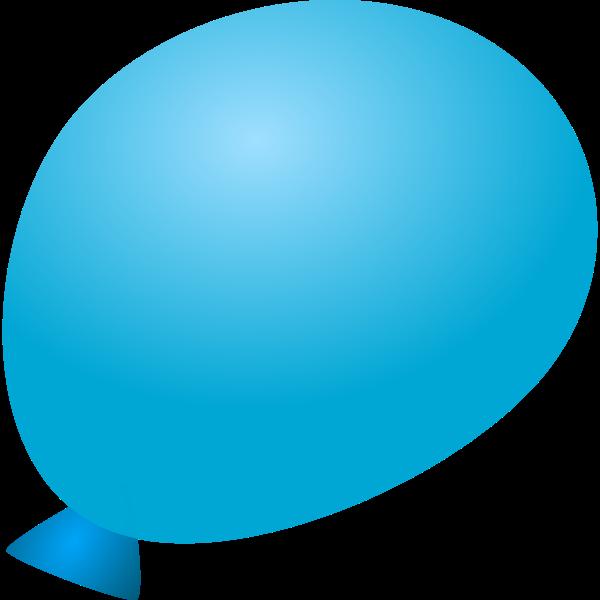 Blue balloon