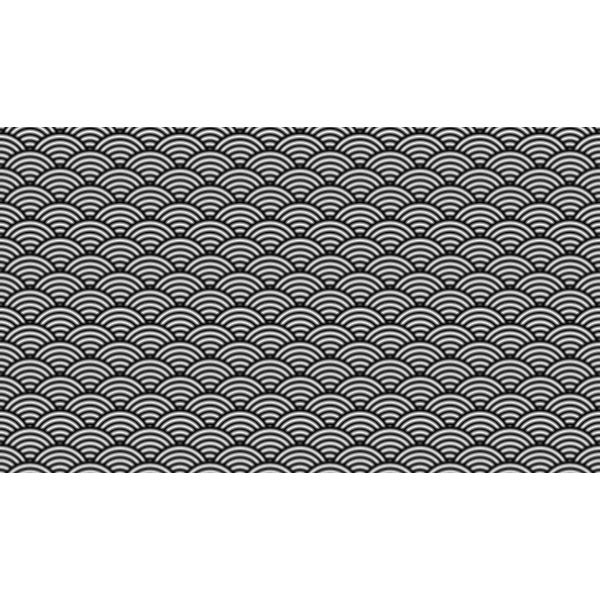 Japanese pattern in gray scale