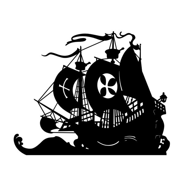 Ship silhouette image