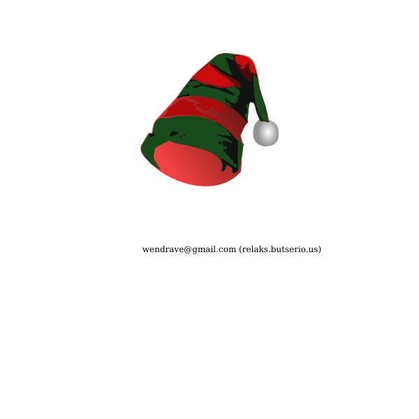 Elf Hat Vector Image Free Svg