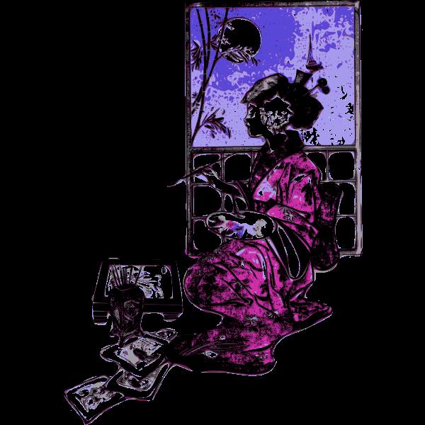 western geisha artist