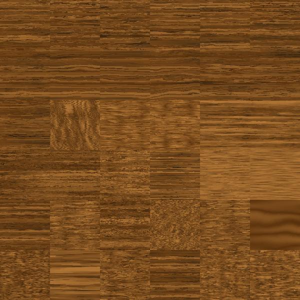 Wooden brown blocks