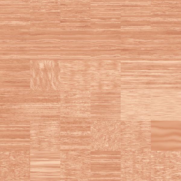 Wooden floor in brown color