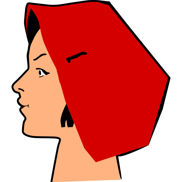 Amish girl's portrait