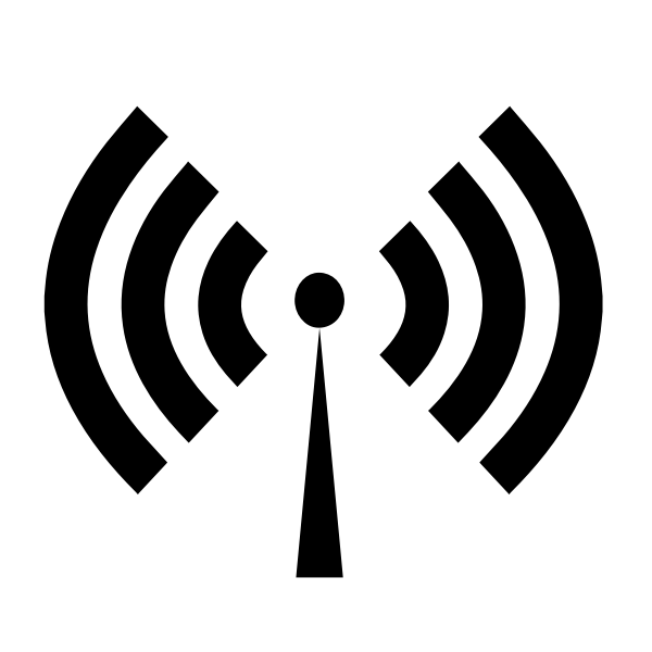 Wi-Fi logotype symbol