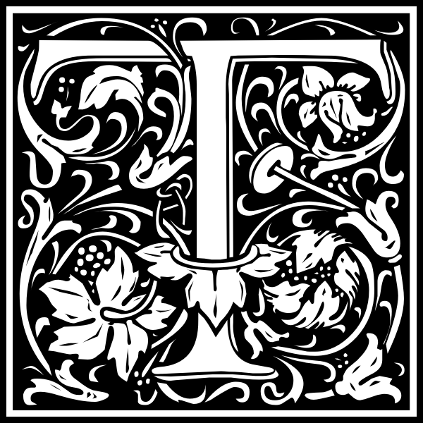 T alphabet letter