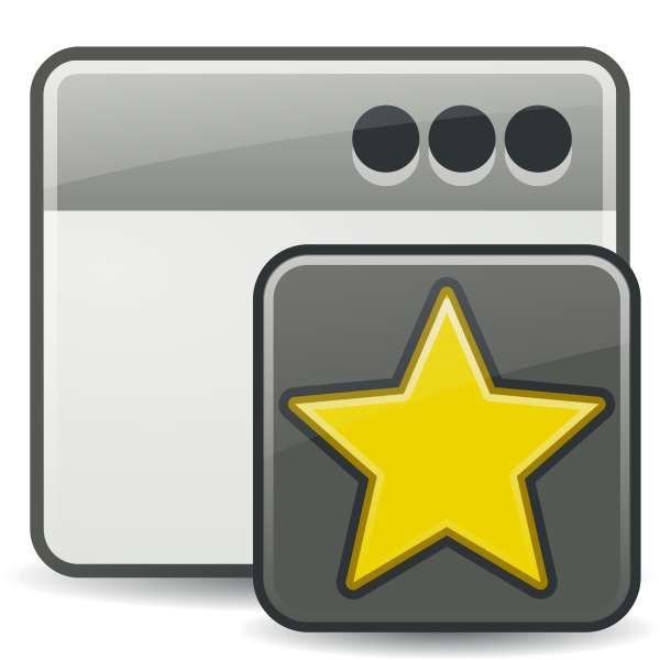 Tango new folder vector clip art