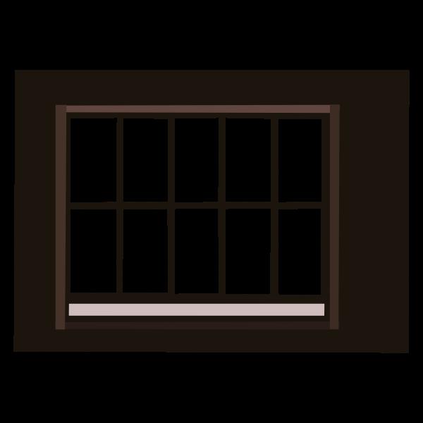 Window with lattice