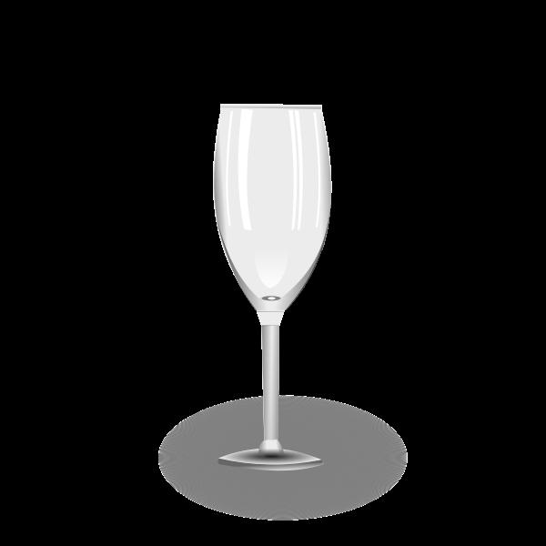 Emptywine glass