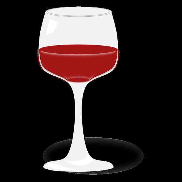 Wine glass 3d