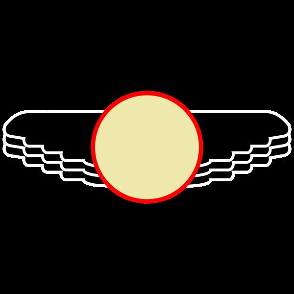 Wings Patch blank