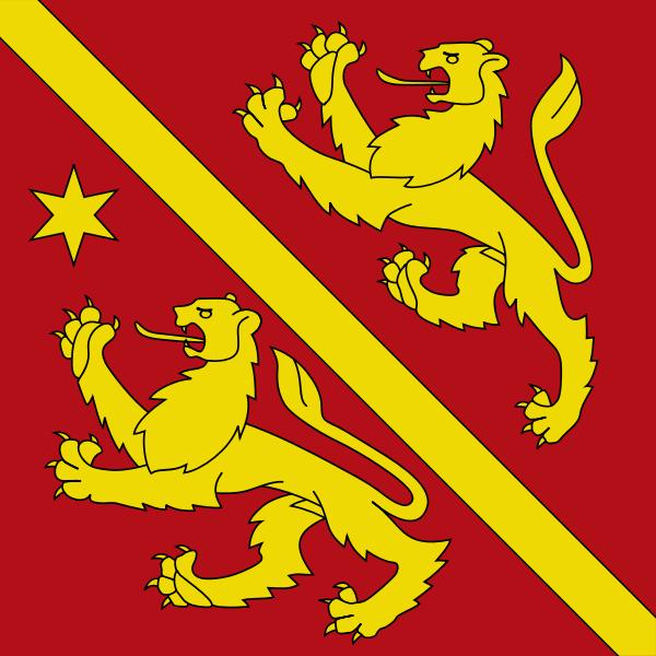 Vector clip art of emblem of the municipality of Andelfingen