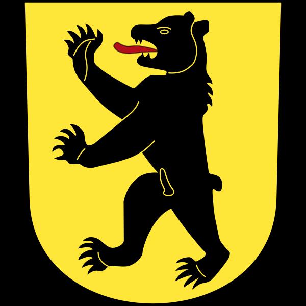 Vector emblem of Bretzwil City