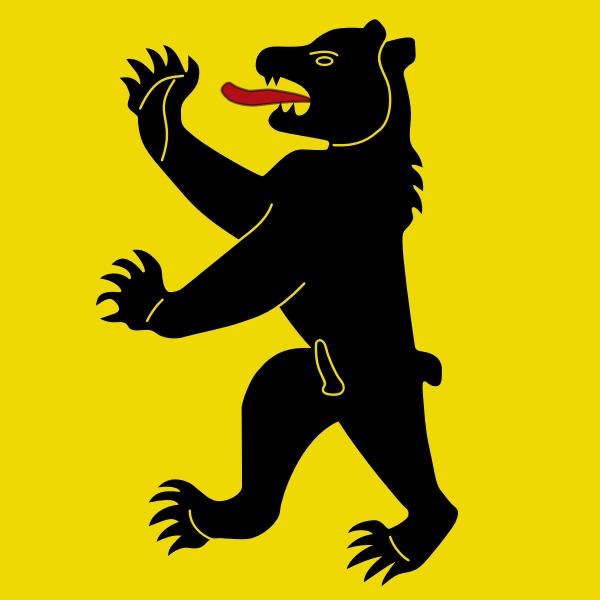 Vector clip art of emblem of the municipality of Bretzwil