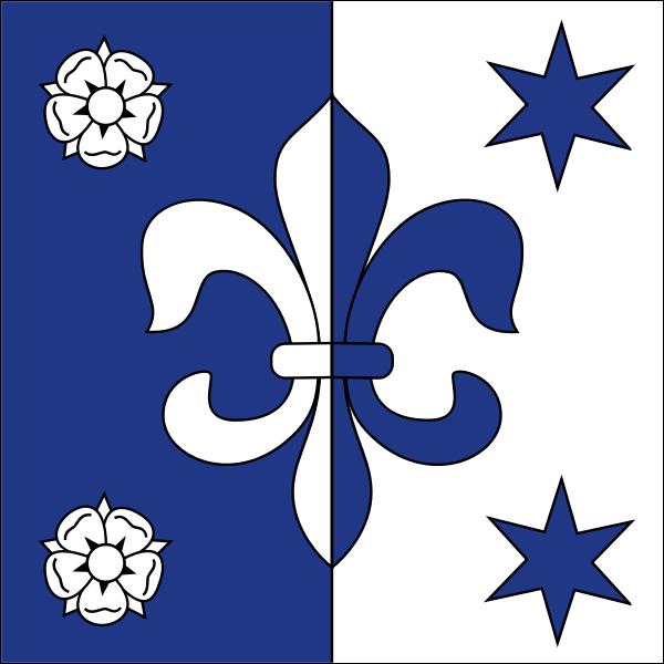 Vector of a city emblem