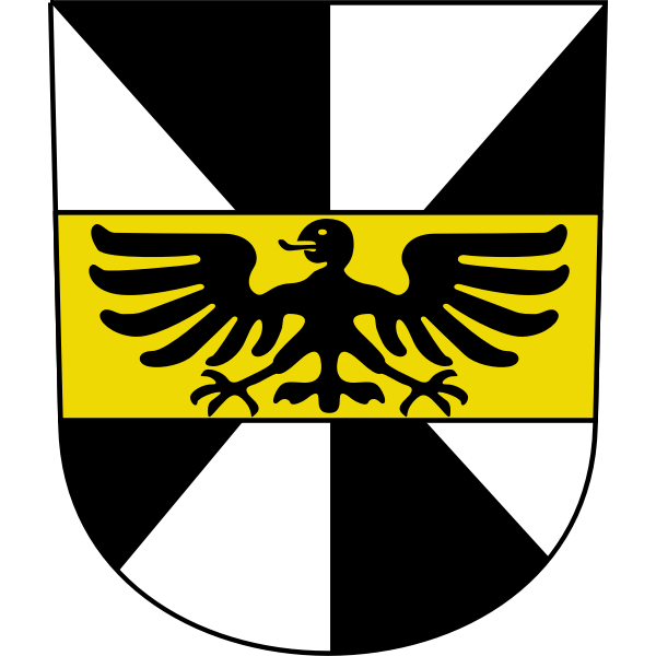 Vector image of coat of arms of Hittnau City