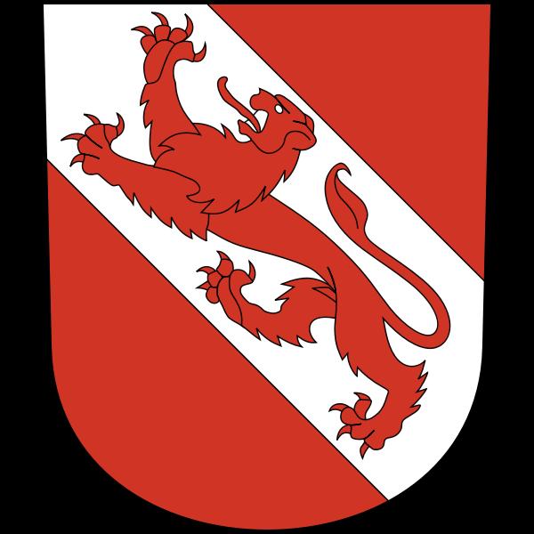 Vector illustration of coat of arms of Pfäffikon District