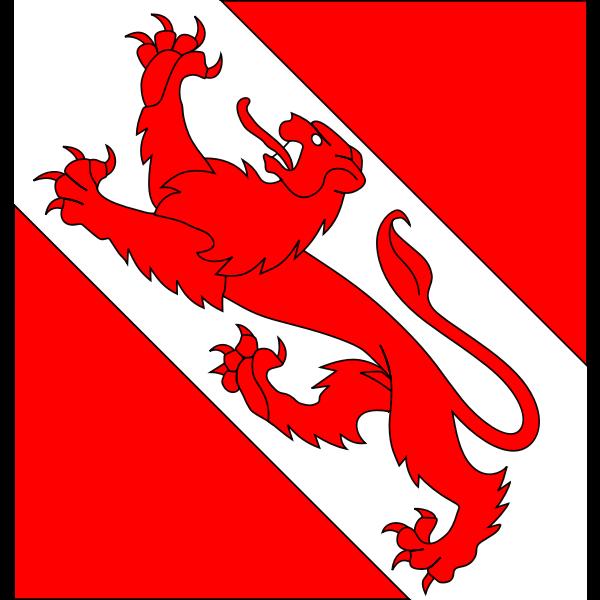 Vector graphics of coat of arms of Pfäffikon