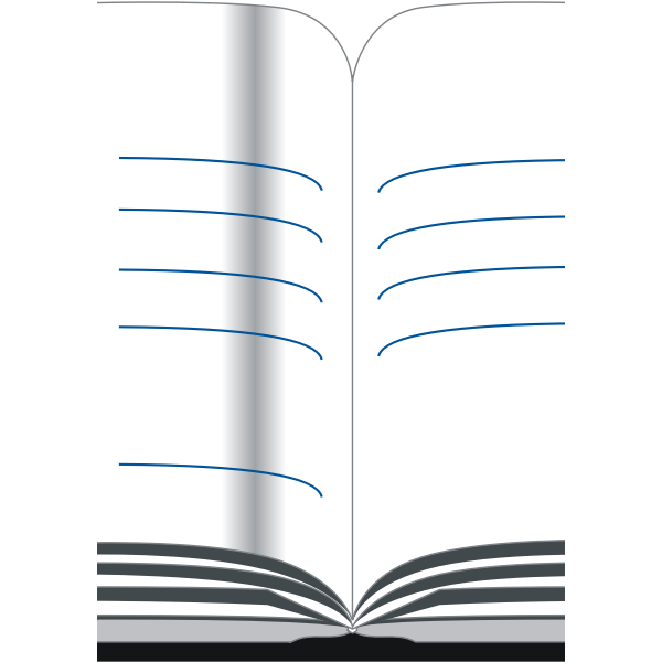 Address book vector drawing