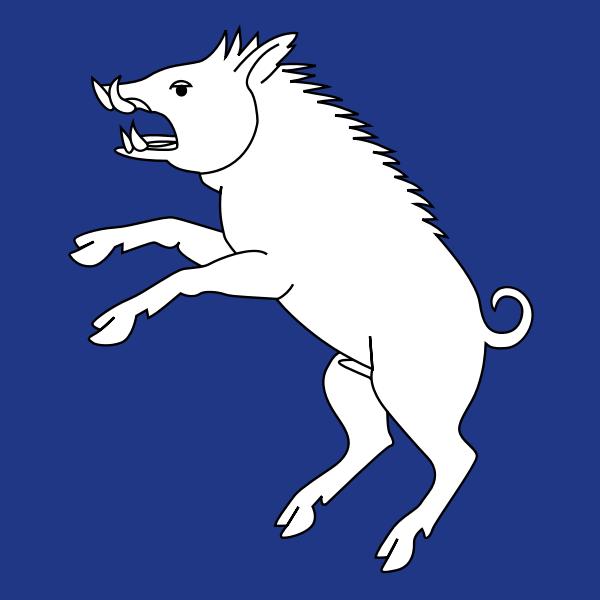 Berg am Irchel coat of arms vector illustration