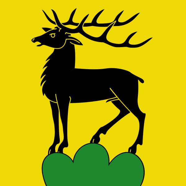 Eglisau coat of arms vector image