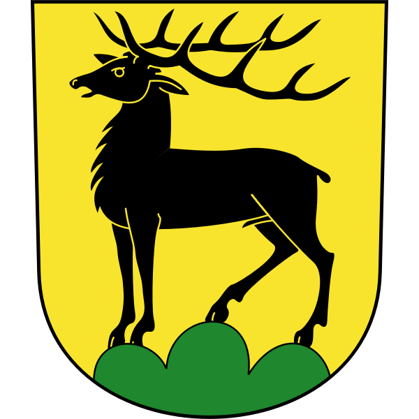 Eglisau coat of arms vector illustration