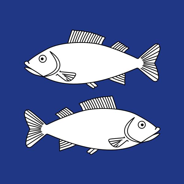 Fischenthal coat of arms no no frame vector clip art