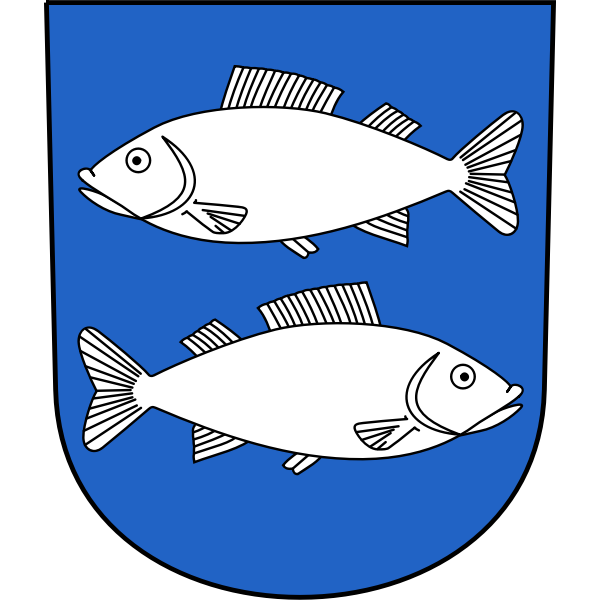 Fischenthal coat of arms vector image