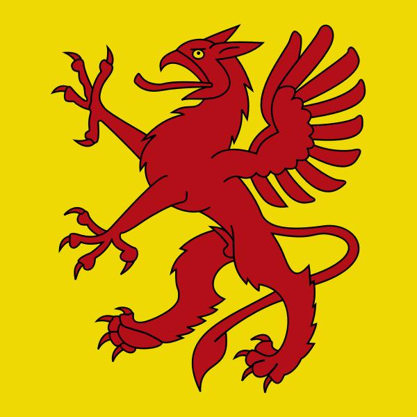 Greifensee coat of arms vector image