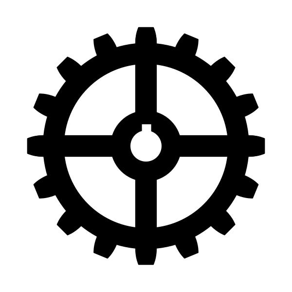 Industriequartier coat of arms no frame vector clip art