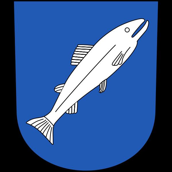 Rheinau coat of arms vector illustration