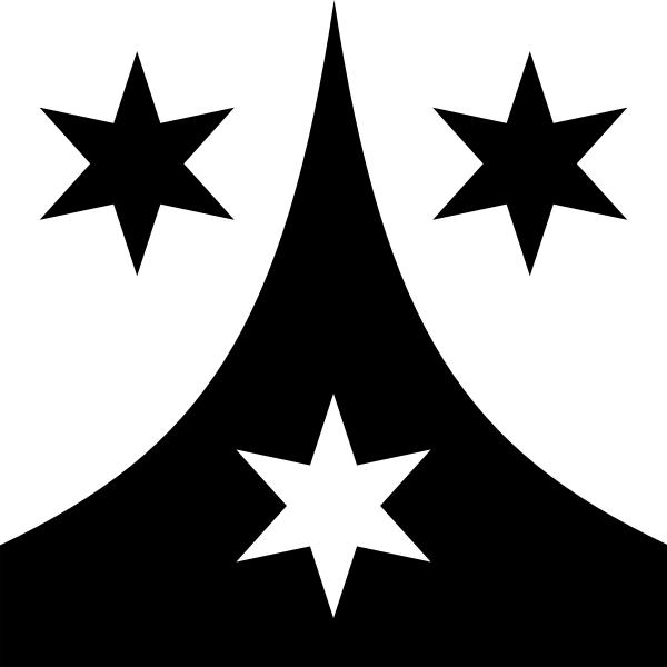Weisslingen coat of arms no frame vector drawing