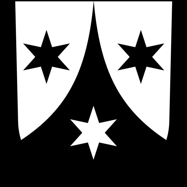 Weisslingen coat of arms vector illustration