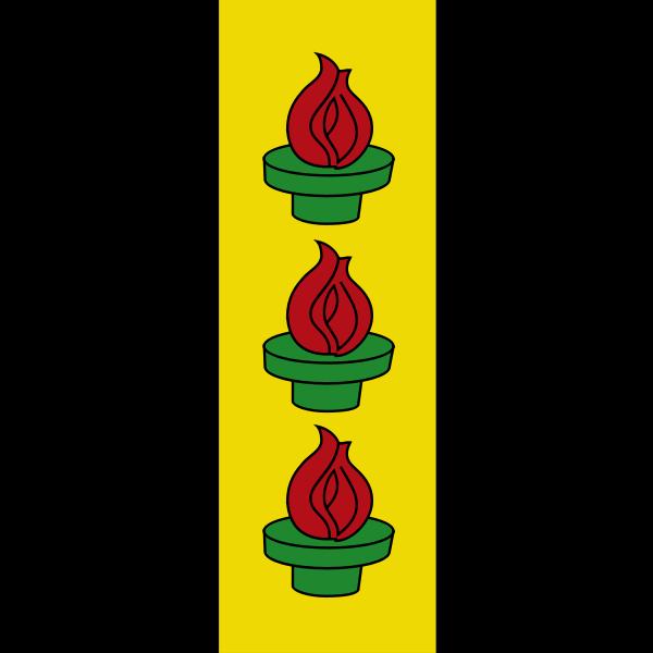 Wetzikon coat of arms no frame vector drawing