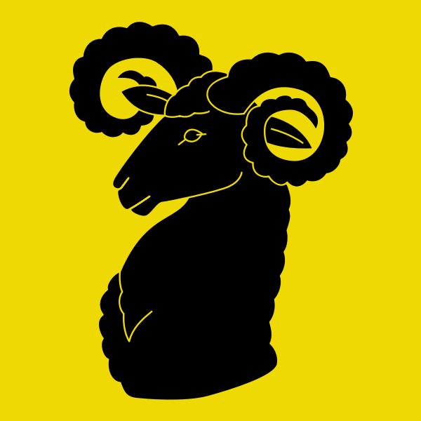 Wildberg coat of arms no frame vector clip art