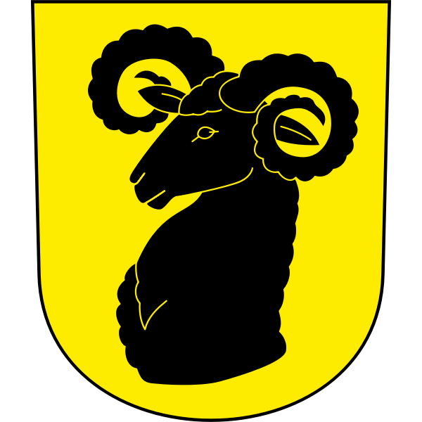 Wildberg coat of arms vector image