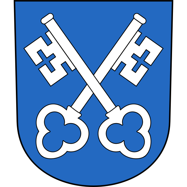 Zumikon coat of arms vector illustration