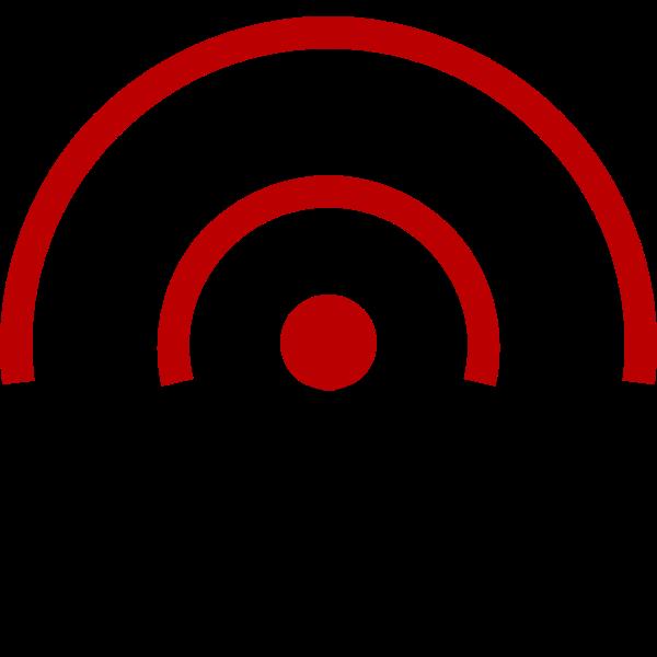 Wireless transmitter vector illustration