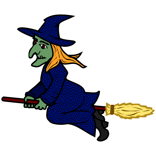witch - coloured