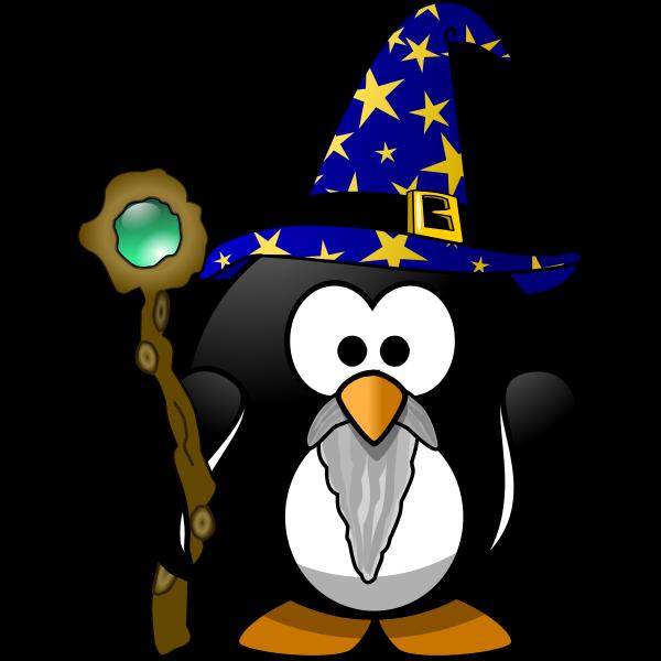 Wizard penguin