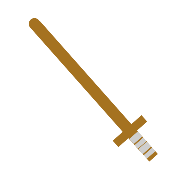 Wooden sword