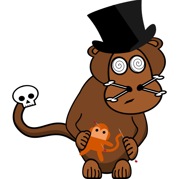 woodoo monkey full meta inkspace