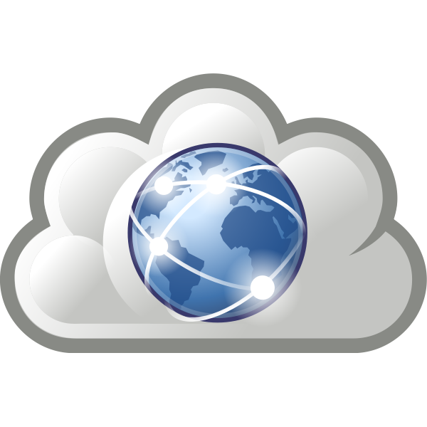 World Wide Web icon vector sign